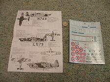 Decals Carpena decals 1/72 72.35 Morane Saulnier MS 406  N1
