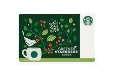 Starbucks Korea 2019 Greener Starbucks Card