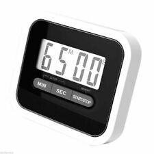 Digital KITCHEN TIMER Countdown Magnetic Fridge Egg Cooking LCD Timing Clock UK