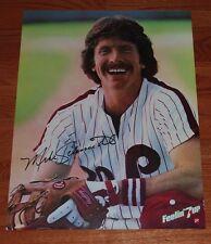 "1981 Mike Schmidt Philadelphia Phillies 7-Up 24 x 36"" Color Poster-NM"