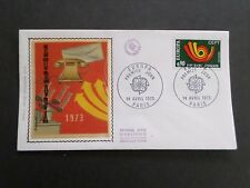 FRANCE 1973, FDC 1° JOUR, EUROPA, COMMUNICATION, TELEPHONE, VF