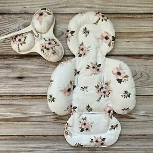 Flowers on White Set Insert mamaRoo 4moms Infant Seat Replacemnt Matching Toys