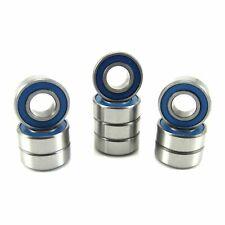TRB RC (10) 5x11x4mm Precision Ball Bearings Blue Rubber Seals Repl Traxxas 5116