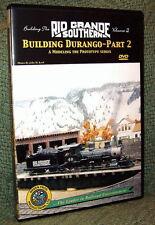 "20023 MODEL RAILROAD VIDEO DVD ""BUILDING THE RGS #2"" DURANGO"