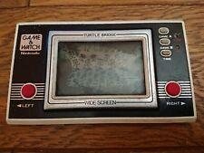 NINTENDO GAME AND & WATCH Turtle Bridge 1982 JAPAN