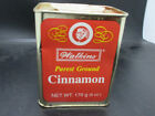 Older style Collectible Tin of Watkins Cinnamon - 6 Ounce USED Can