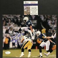 Autographed/Signed SAQUON BARKLEY Penn State Nittany Lions 8x10 Photo JSA COA