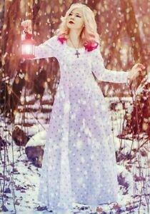 Fleur De Lis Medieval Gown // Historical Cosplay Dress SCA // Mardi Gras Costume