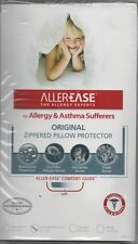 AllerEase Allgery Zippered Standard Size Pillow Cover White Zipper Protector NEW