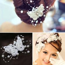 Damen-Haarschmuck aus Spitze Schmetterling
