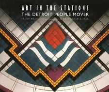 Art in the Stations The Detroit People Mover Irene Walt Tile Design Subway Train