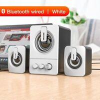 Computer Speaker Wired 4d Stereo Sound Surround Bluetooth Multimedia Loudspeaker