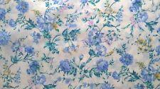 1 Metre Length Floral, Flower Print Cotton Lawn 100% cotton Fabric - 100806