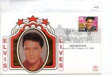 Elvis Presley (05) FDC - United States - 58th Anniv of birth - Benham cover