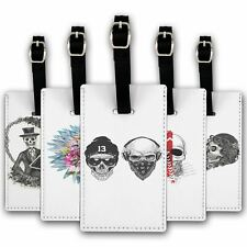 Luggage Suitcase Baggage Tag Skulls Collection 2