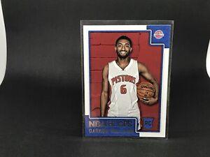DARRUN HILLIARD. 2015-16 NBA Hoops Rookie Card, Card #297. Detroit Pistons.