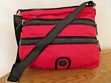 Kipling Hitch Large Shoulder Messenger Bag Grilla Girlz Crimson Red