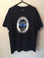 NEWCASTLE UNITED Men's Official FOOTBALL Black T-Shirt, Size Medium