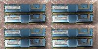 For Dell PowerEdge 64GB (8 x 8GB DIMMS) PC2-5300F ECC Memory RAM 1950 2950 2900
