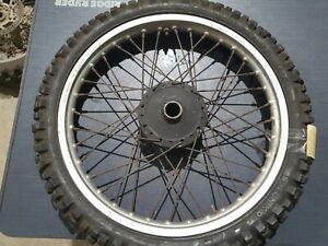 1982 Yamaha YZ80 J front wheel