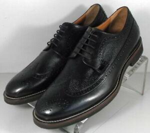 591677 SP50 Men's Shoes Size 9 M Black Leather Lace Up Johnston & Murphy