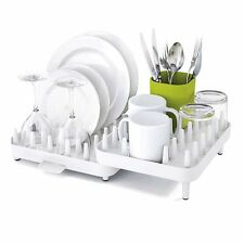 New Kitchen Plate Dish Drying Rack Storage Utensil Holder Sink Drainer Organizer