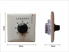 Water Pump 60 Minutes Timer Controller Switch Power Supply 220V 15A Switch