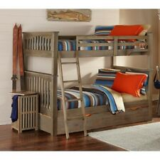 Rosebery Kids Summerland Full over Full Bunk with Trundle in Driftwood