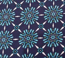 "34"" Impressions Fall 2012 Celeste Ty Pennington Navy Blue Green Teal Floral"