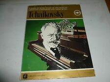 "THE GREAT MUSICIANS - Tchaikovsky (Part 1) - 1965 Italy 10"" 78 Vinyl Single"