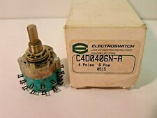 Nib Electroswitch C4d0406n A Rotary Switch 4 Poles 6 Position Non Shorting