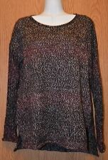 Womens Mulberry Blend Sanctuary Open Knit Sweater Size Small NEW NWT flaw