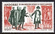Andorra, French Administration Scott #159 VF Unused 1964 Napoleon 1806