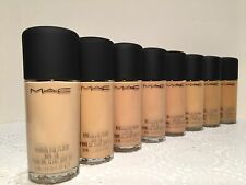 MAC Studio Fix Fluid SPF15 Foundation NC10/NW10/NC15/NW15/NC20& More Pick One