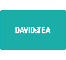 DAVIDsTEA Gift Card $25, $50, or $100 - Email Delivery
