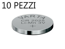 Pila Batteria Varta CR2025  3V -10 PEZZI