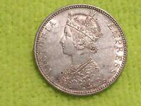 India 1 rupee silver 1886