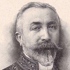 Portrait Ernest BABELON Numismatique Glyptographie Sarrey Haute-Marne