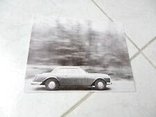 Facel Vega Facellia F2-62 1962 catalogue brochure prospectus sales réédition