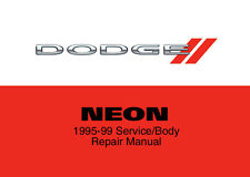 Dodge Neon 1995 1996 1997 1998 1999 Service Repair Workshop Factory Manual Disc