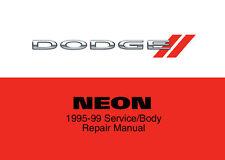 Dodge Neon 1995 1996 1997 1998 1999 Service Repair Workshop Factory Manual Disc