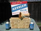 Kessler Beer Helena Montana Store Display NOS New Old Stock 3D Back Bar Sign