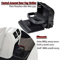 Auto Hinten Mittelkonsole Getränkehalter für VW Golf Jetta Gti MK5 1K0862532