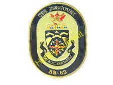 BB-63 USS MISSOURI CREST WW2 US Navy Battleship 1/200 1/350 Model Display Badge