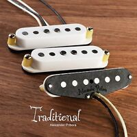 Handwound Pickups fit Fender Stratocaster, Traditional with Alnico5 magnets.