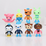 8pcs/lot Octonauts Action Figures Barnacles Peso Captain Kids Gifts Toys Doll