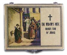 The Biblical Widow's Mite: Bronze Coin of Judea in a Clear Box High grade coin!
