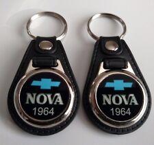 1964 CHEVY NOVA KEYCHAIN 2 PACK CLASSIC CAR LOGO
