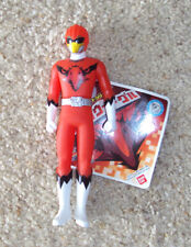 "Super Sentai Bandai Zyuohger Zyuoh Eagle Red Ranger 6"" Soft Action Figure"