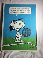 Snoopy Vintage Framed Poster 1958 Original Frame Peanuts